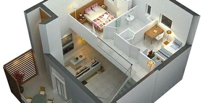 Dekorasi Rumah 1,5 Lantai Yang Indah Dan Menawan