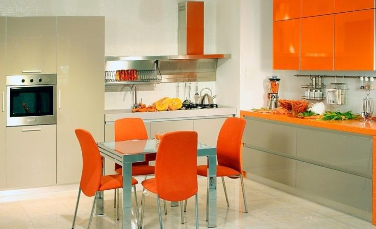 Munculkan Nuansa Ceria Dengan Warna Orange