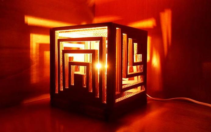 Lampu Hias Dari Carton