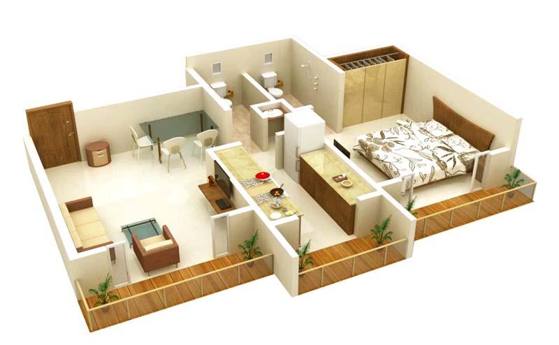 Contoh Desain Rumah Modern Minimalis Dengan Ukuran Kecil